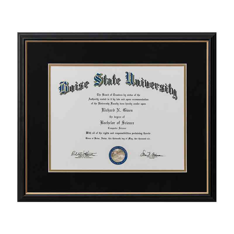 Limited: Diploma frame 8X10