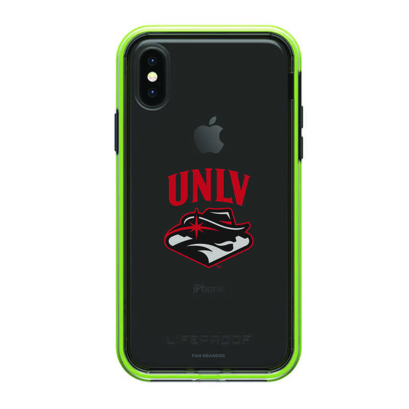 Lifeproof Night Flash Slam Case With Unlv Rebels For Iphone X