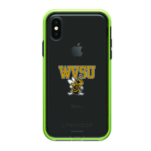 IPH-X-NF-SLA-WVSU-D101: FB West Virginia St SL?M  iPHONE X