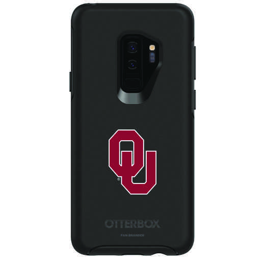 GAL-S9P-BK-SYM-OKC-D101: FB Oklahoma OB SYMMETRY Case for Galaxy S9+