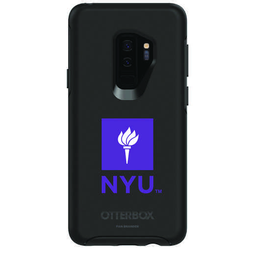 GAL-S9P-BK-SYM-NYU-D101: FB NYU OB SYMMETRY Case for Galaxy S9+