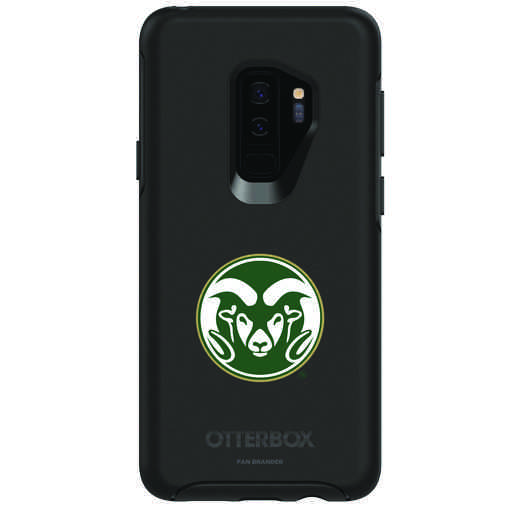 GAL-S9P-BK-SYM-CSU-D101: FB Colorado St OB SYMMETRY Case for Galaxy S9+