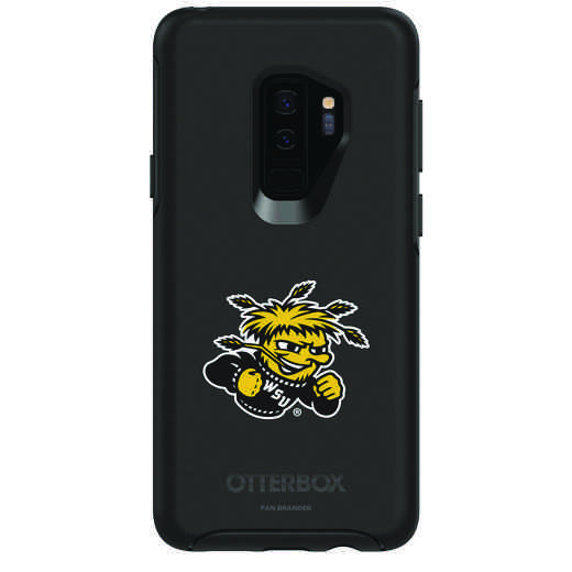GAL-S9P-BK-SYM-WSU-D101: FB Wichita St OB SYMMETRY Case for Galaxy S9+