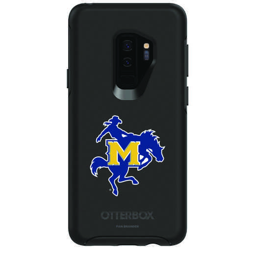 GAL-S9P-BK-SYM-MNS-D101: FB McNeese St OB SYMMETRY Case for Galaxy S9+