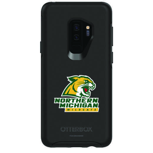 GAL-S9P-BK-SYM-NOMU-D101: FB Northern Michigan OB SYMMETRY Case for Galaxy S9+