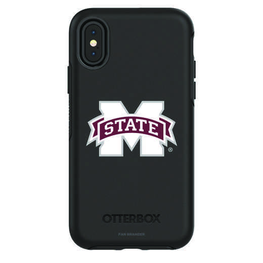 IPH-X-BK-SYM-MSST-D101: FB Mississippi St iPhone X Symmetry Series Case