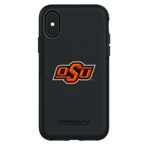 IPH-X-BK-SYM-OKS-D101: FB Oklahoma St iPhone X Symmetry Series Case