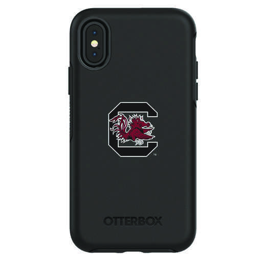 IPH-X-BK-SYM-USC-D101: FB South Carolina iPhone X Symmetry Series Case