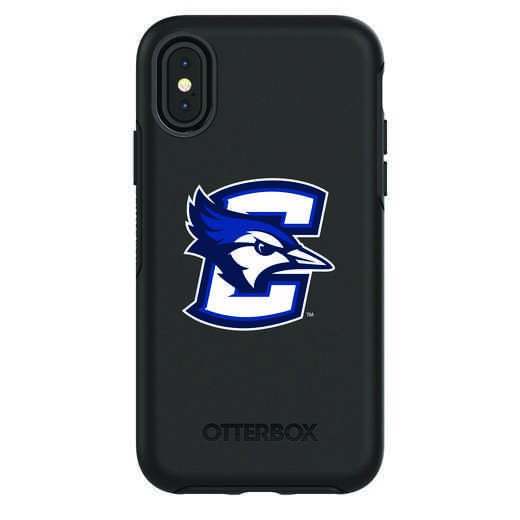 IPH-X-BK-SYM-CRE-D101: FB Creighton iPhone X Symmetry Series Case