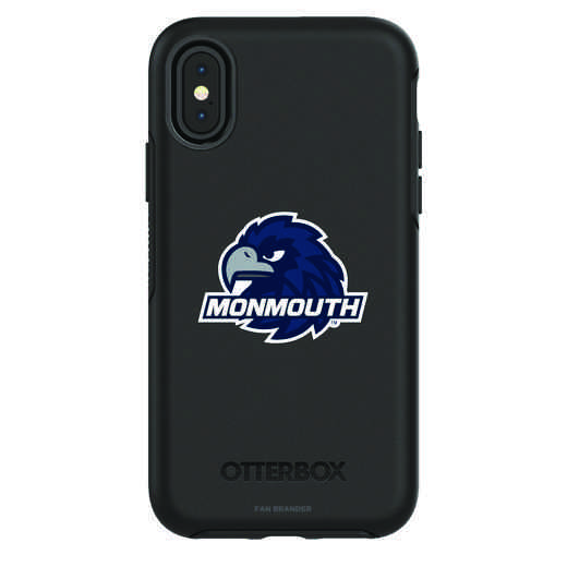 IPH-X-BK-SYM-MONU-D101: FB Monmouth iPhone X Symmetry Series Case