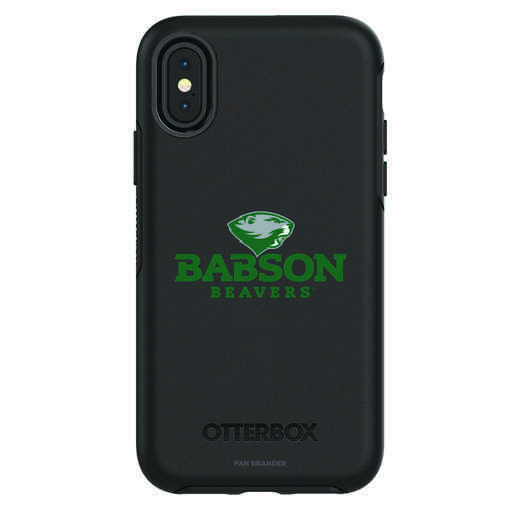 IPH-X-BK-SYM-BAB-D101: FB Babson iPhone X Symmetry Series Case