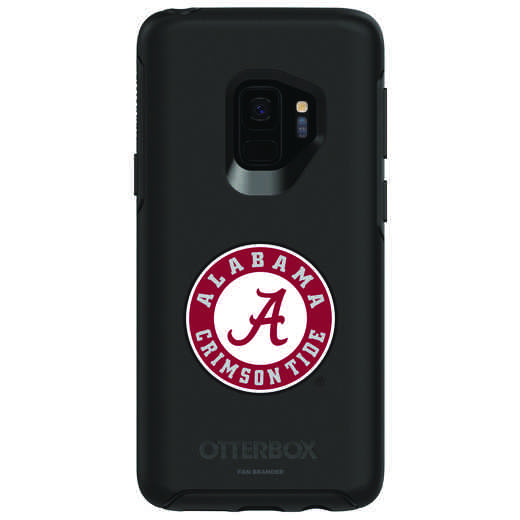 GAL-S9-BK-SYM-AL-D101: FB Alabama OB SYMMETRY Case for Galaxy S9