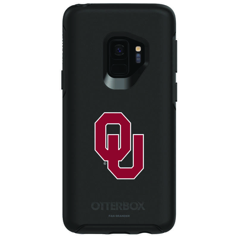low priced 768fc cb84f OtterBox Black Symmetry case with Oklahoma Sooners for Galaxy S9
