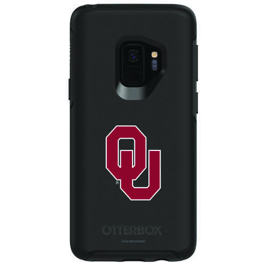 GAL-S9-BK-SYM-OKC-D101: FB Oklahoma OB SYMMETRY Case for Galaxy S9