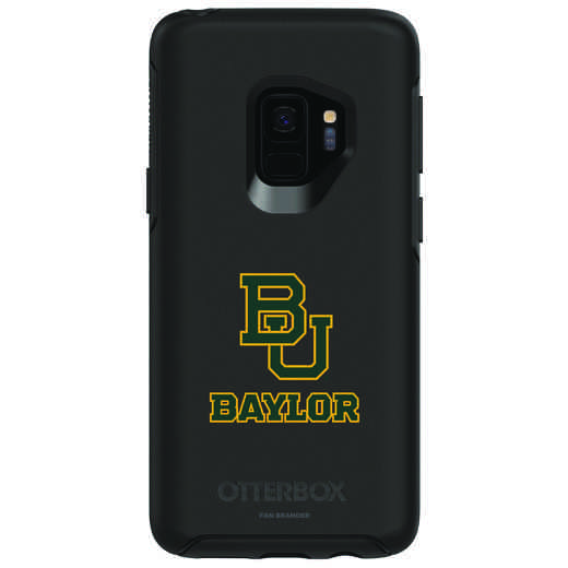 GAL-S9-BK-SYM-BAY-D101: FB Baylor OB SYMMETRY Case for Galaxy S9