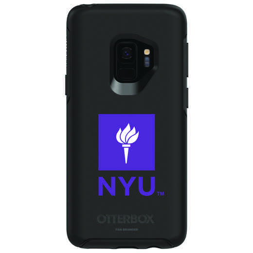 GAL-S9-BK-SYM-NYU-D101: FB NYU OB SYMMETRY Case for Galaxy S9
