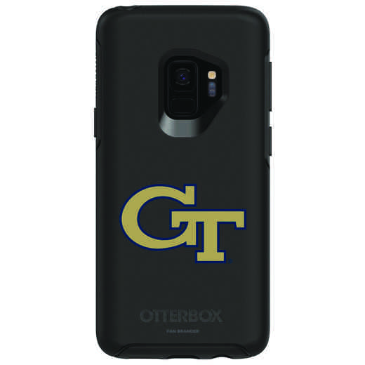 GAL-S9-BK-SYM-GT-D101: FB Georgia Tech OB SYMMETRY Case for Galaxy S9