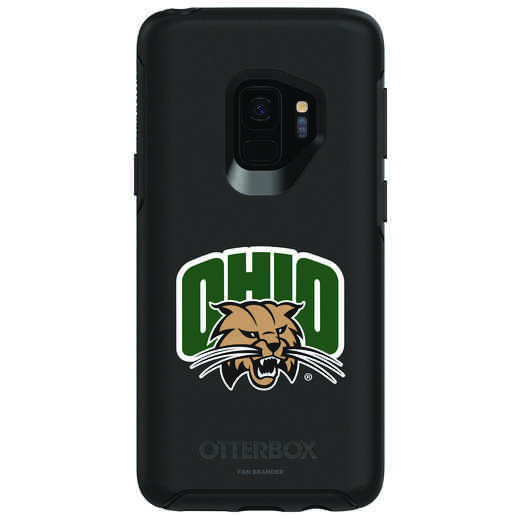 GAL-S9-BK-SYM-OHU-D101: FB Ohio OB SYMMETRY Case for Galaxy S9