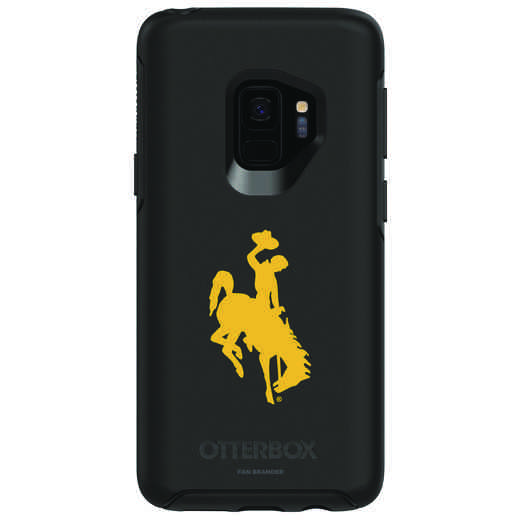 GAL-S9-BK-SYM-WY-D101: FB Wyoming OB SYMMETRY Case for Galaxy S9