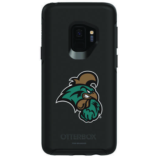 GAL-S9-BK-SYM-CCU-D101: FB Coastal Carolina OB SYMMETRY Case for Galaxy S9