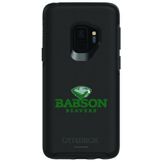 GAL-S9-BK-SYM-BAB-D101: FB Babson OB SYMMETRY Case for Galaxy S9