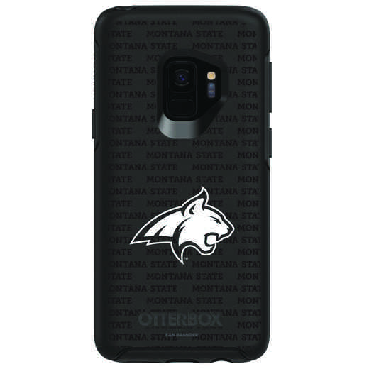 GAL-S9-BK-SYM-MTST-D101: FB Montana St OB SYMMETRY Case for Galaxy S9