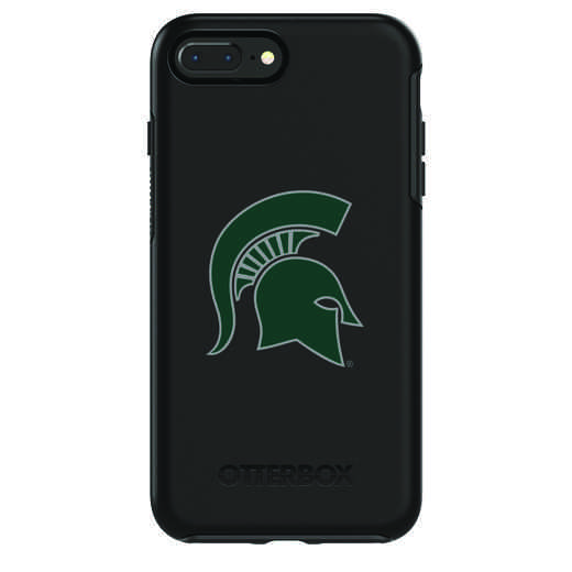 IPH-87P-BK-SYM-MCS-D101: FB Michigan St OB SYMMETRY IPN 8 PLUS AND IPN 7 PLUS