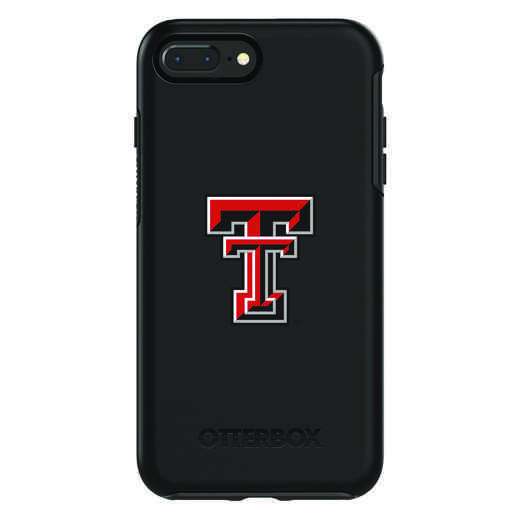 IPH-87P-BK-SYM-TT-D101: FB Texas Tech OB SYMMETRY IPN 8 PLUS AND IPN 7 PLUS