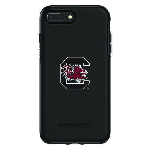 IPH-87P-BK-SYM-USC-D101: FB South Carolina OB SYMMETRY IPN 8 PLUS AND IPN 7 PLUS