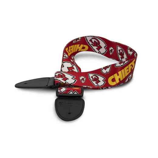 GSNFL16:  Kansas City Chiefs Guitar Strap
