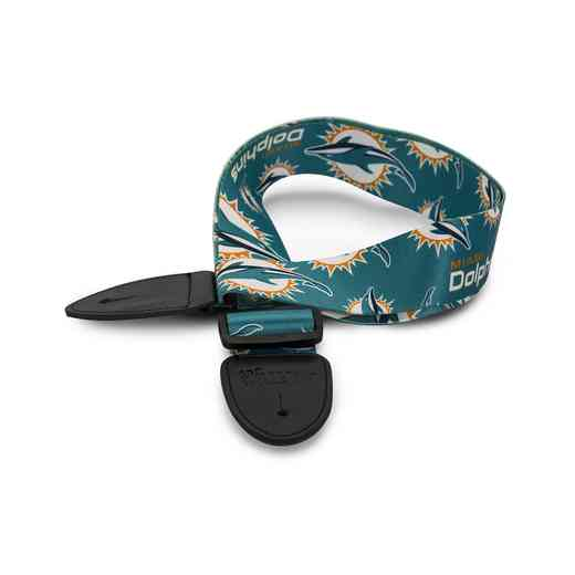GSNFL17:  Miami Dolphins Guitar Strap