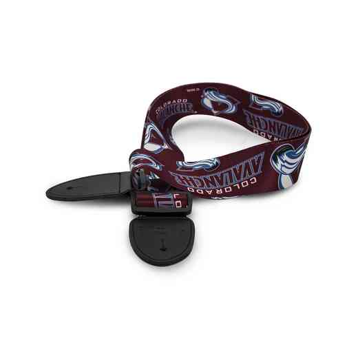GSNHL08:  Colorado Avalanche Guitar Strap
