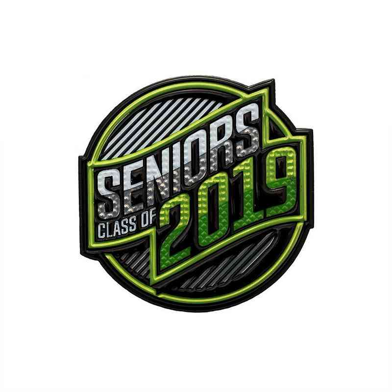 Other Grad Product: Senior Class of 2019 EmbossTech Patch