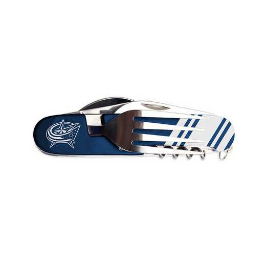 UNNHL09: TSV   Columbus Blue Jackets Utensil Multi Tool