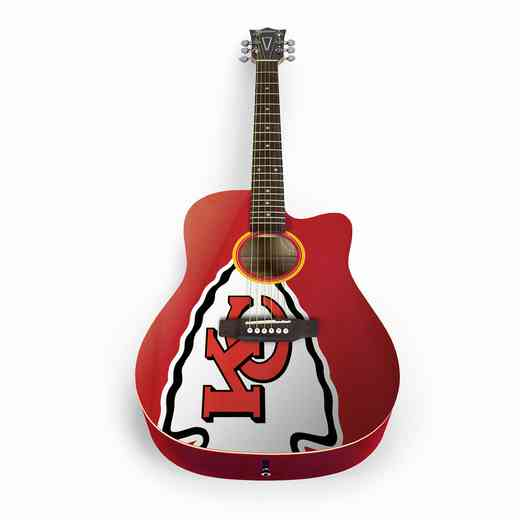 ACNFL16:  Kansas City Chiefs Acoustic Guitar