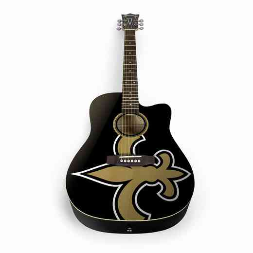 ACNFL20:  New Orleans Saints Acoustic Guitar