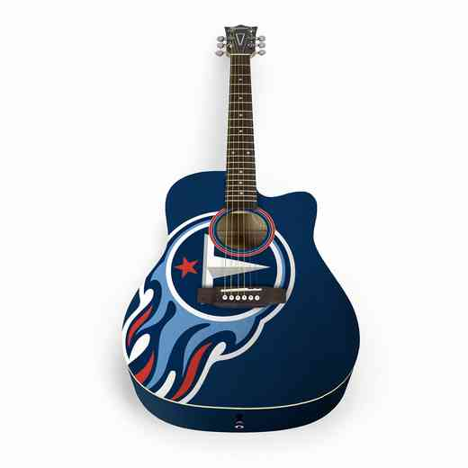 ACNFL31:  Tennessee Titans Acoustic Guitar