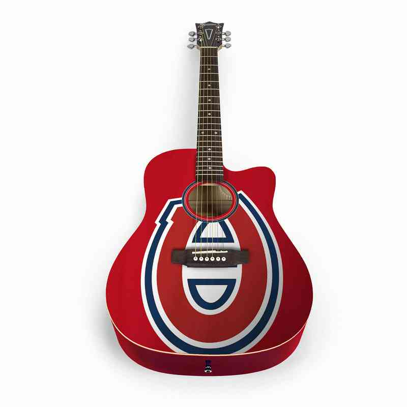 ACNHL16: Montreal Canadiens Acoustic Guitar