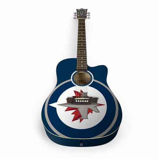 ACNHL30: Winnipeg Jets Acoustic Guitar
