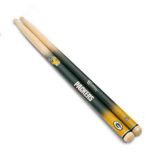 DSNFL12:  Green Bay Packers Drum Sticks