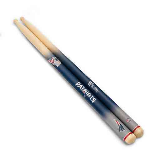 DSNFL19:  New England Patriots Drum Sticks