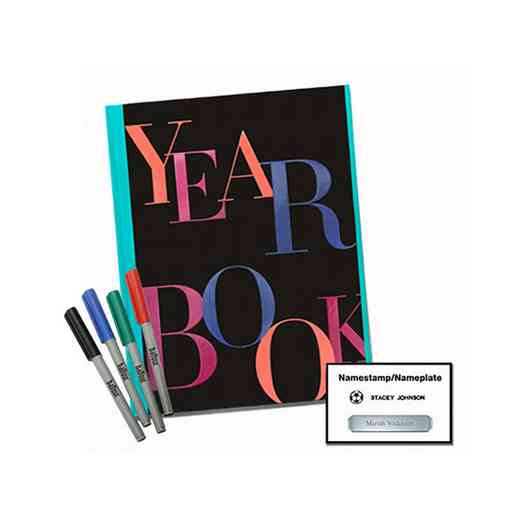 2019 McFadden School of Excellence Yearbook Package – Personalization Package