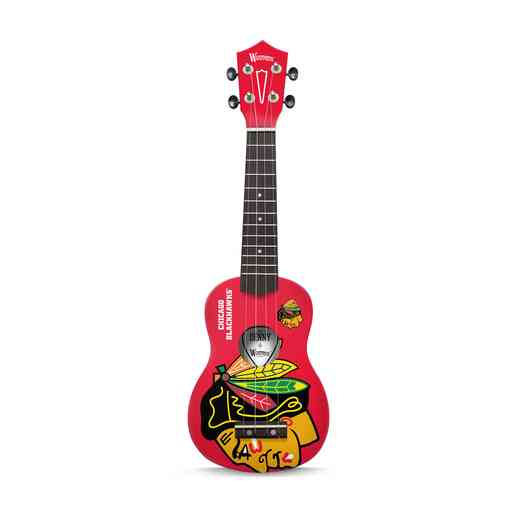 UKNHL41:  Chicago Blackhawks Ukulele