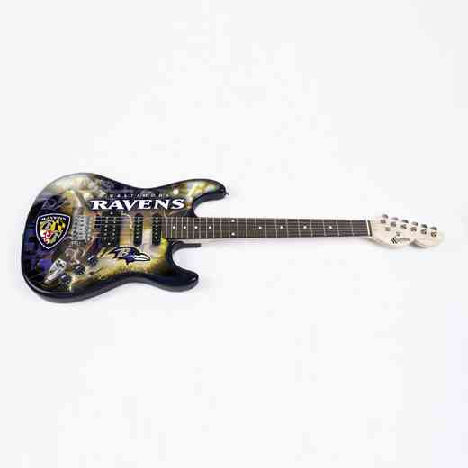 NENFL03:  Baltimore Ravens Northender Guitar