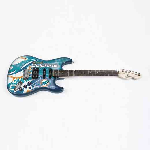NENFL17:  Miami Dolphins Northender Guitar