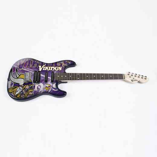 NENFL18:  Minnesota Vikings Northender Guitar