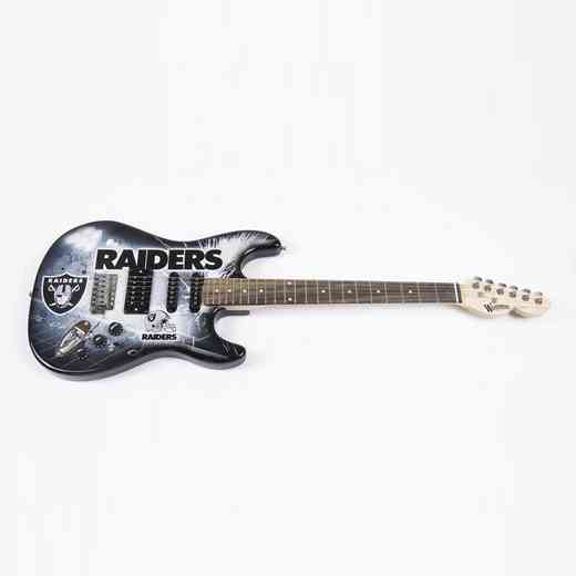 NENFL23:  Oakland Raiders Northender Guitar