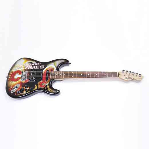 NENHL05:  Calgary Flames Northender Guitar