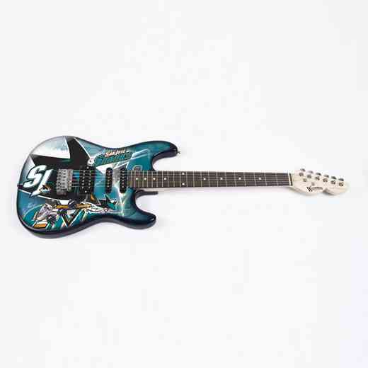 NENHL25:  San Jose Sharks Northender Guitar
