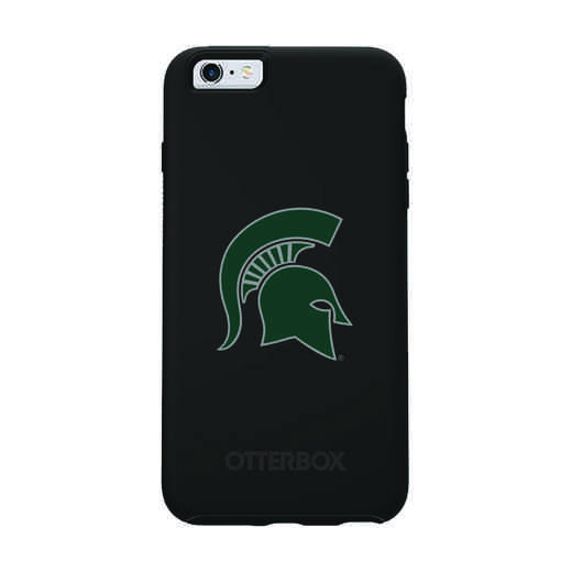 IPH-66S-BK-SYM-MCS-D101: FB Michigan St OB SYMMETRY IPN 6/6S